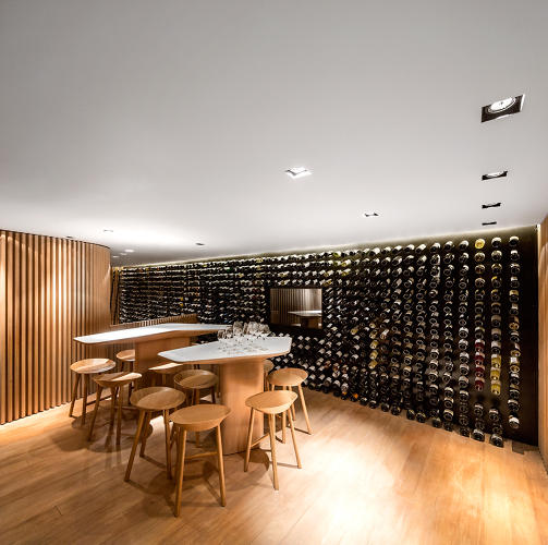 <p>It's not all show-and-tell, though; there's a tasting room, too.</p>