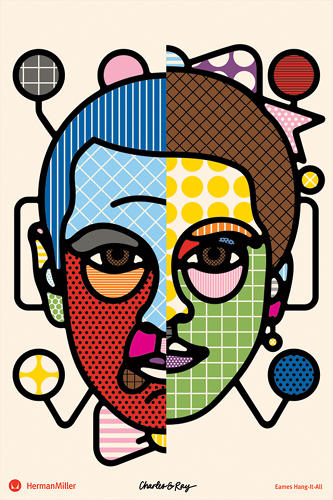 <p>Craig Redman and Karl Maier (aka Craig &amp; Karl) created this homage to the Eames classic Hang-It-All.</p>