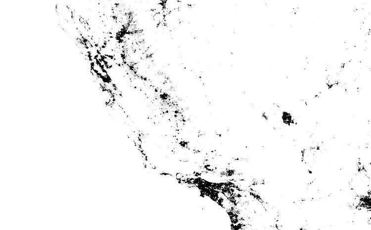 <p>In terms of information, the zoomable map is incredibly dense, throwing some 300-million data points at the user. But these days we're used to handling that, thanks to our mobile maps apps and pinch-to-zoom.</p>