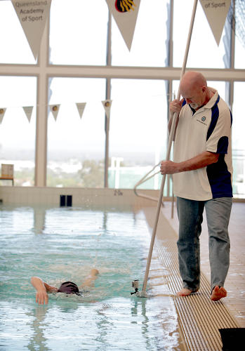 <p>Queensland Sports Technology Cluster in Australia developed micro-sensor data capture that provides detailed 3-D analysis of a swimmer's movement, including measuring the volume of water displaced with each stroke.</p>
