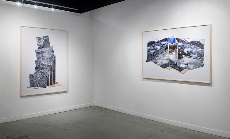 <p>The series of photos were printed as part of an exhibit at the Gallery Fukai in Vancouver.</p>