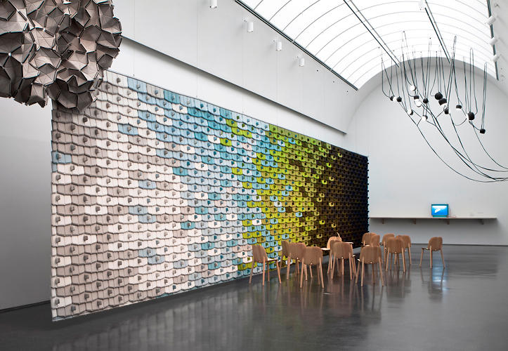 <p><a href=&quot;http://www.mcachicago.org/exhibitions/now/2012/305&quot; target=&quot;_blank&quot;><em>Ronan and Erwan Bouroullec: Bivouac</em></a> originated at the Centre Pompidou-Metz and is now on view at the <a href=&quot;http://www.mcachicago.org/&quot; target=&quot;_blank&quot;> Museum of Contemporary Art Chicago</a>.</p>