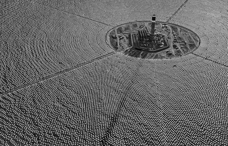 <p>But despite whatever tensions are playing out on ground level, from the sky, it's hard to deny Ivanpah's beauty.</p>