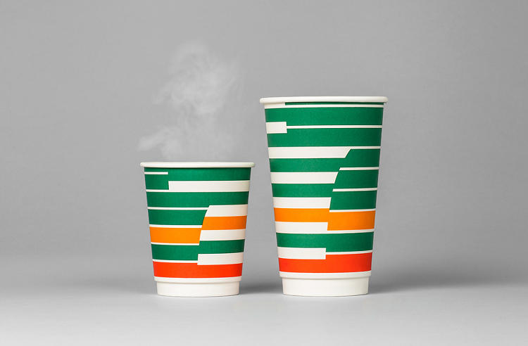 <p>The stripes are a 7-Eleven signature, but they've become less common as the chain has made an effort to fit into urban neighborhoods.</p>