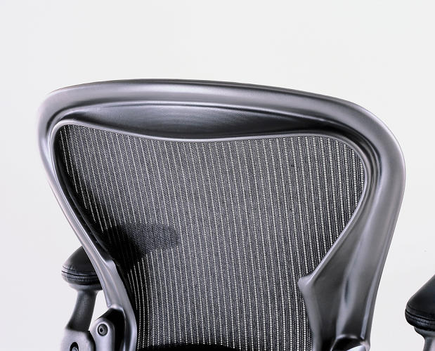 <p>The Sarah work was reborn in a project for an office chair that came to be called the Aeron. The key insight lay in exposing Sarah's mesh structural support …</p>
