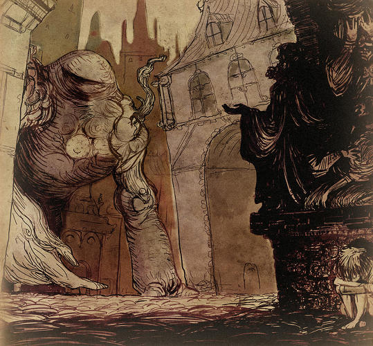 <p>In the game, the player takes on the role of the Golem, trying to learn to control his movements and emotions while protecting the city.</p>