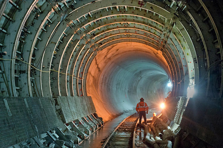 <p>In some of the most impressive tunnels, especially considering their location, that modern technology can burrow.</p>