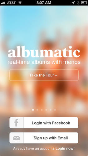 <p>Albumatic, a free app that lets users co-create photo albums.</p>