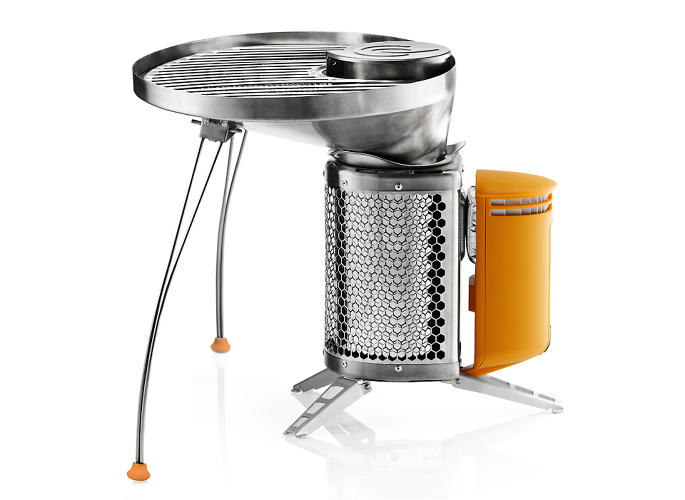<p>The grill gives you 55 square inches of cooking space.</p>