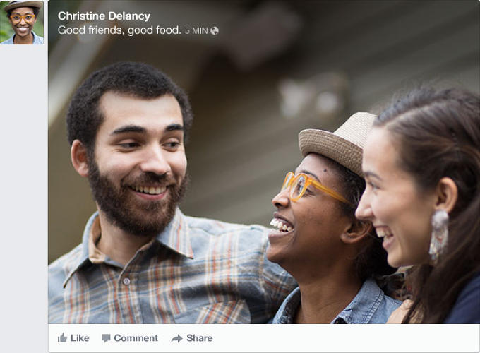 <p>Facebook's latest News Feed enlarges just about every image across the social network.</p>