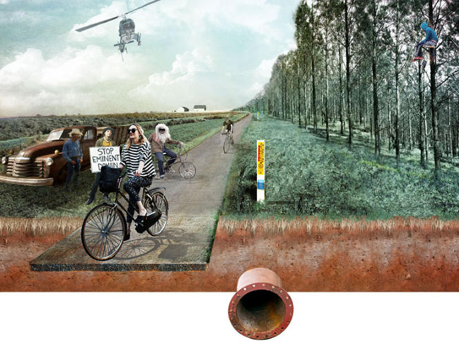 <p>You could interpret the plan as cynical, but the designers see it as a way to explore multi-modal infrastructure.</p>