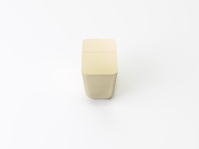 <p>The Wedge of Matter candleholder comes in brass or marble.</p>