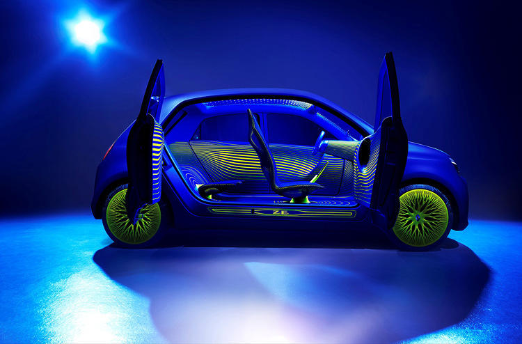 <p>The Renault-made, Ross Lovegrove-designed car strives to borrow from natural patterns and forms.</p>