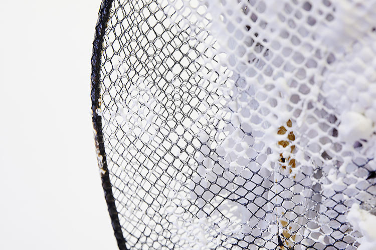 <p>A new use for fishnet.</p>