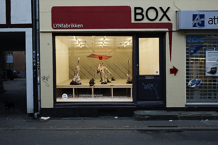 <p>A view of the BOX, LYNfabrikken's exhibition space in Aarhus, Denmark.</p>