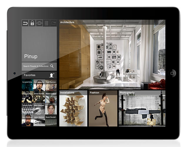 <p>The &quot;Pinup&quot; feature is a virtual gallery where a user can pinup work for feedback and enable other users to follow projects.</p>