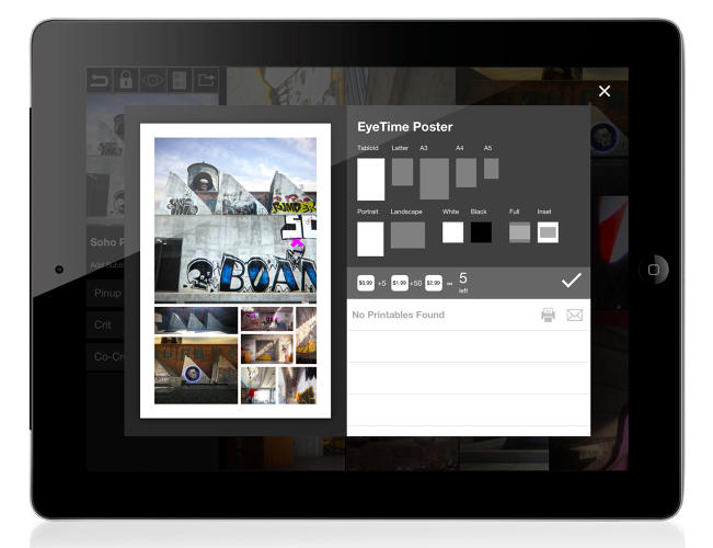 <p>&quot;Printables,&quot; the final new addition to Morpholio, exports print-ready images.</p>