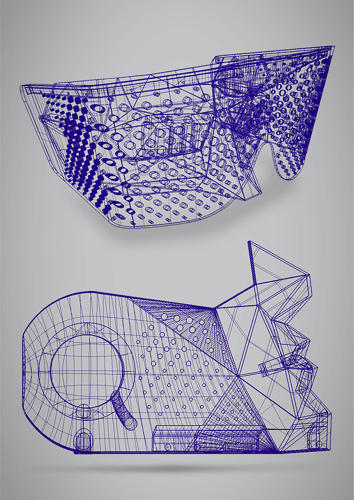 <p>3-D visualization of both prototypes.</p>