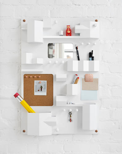 <p>The <em>Suburbia</em> storage unit from Swedish design studio Note is modeled after aerial maps of the suburban countryside.</p>