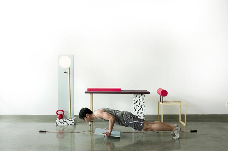 <p>Balance board push-ups? Yes, this looks challenging.</p>