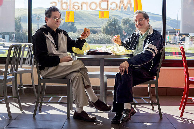 <p>McDonald's customers are the subject of Conway's expansive photo essay, which consists of 180 portraits or so.</p>