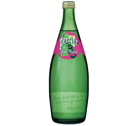 <p>The special edition bottles will feature labels inscribed with tiny recreations of four of Warhol's Perrier prints. They will also feature several select Warhol quotes and his signature.</p>