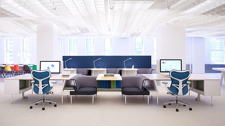 <p>The latest from Yves Béhar's fuseproject? A new office furniture system for Herman Miller, designed specifically to let employees collaborate throughout the day.</p>