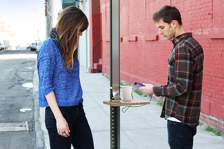 <p>A while back, Pensa had an idea for a solar-powered recharging station for urban streets.</p>