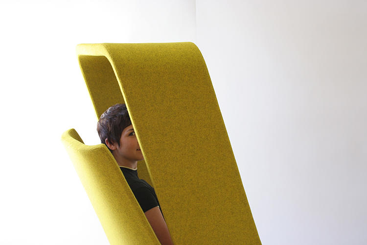 <p>The latest from industrial design team Mike &amp; Maaike is Windowseat, a &quot;sub-architectural&quot; structure designed to create pockets of privacy in busy spaces.</p>