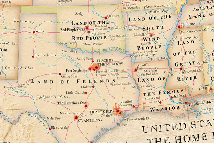 <p>Texas, Land of Friends--it sounds so inviting, doesn't it? Would make a great state slogan.</p>