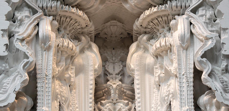 <p>&quot;Digital Grotesque&quot; is a new installation that will consist of an entirely 3-D printed room featuring Hansmeyer's highly ornamental columns and walls.</p>