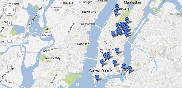 <p>The 21 buildings on the list, the MoMA writes, are &quot;landmarks of modern architecture.&quot;</p>