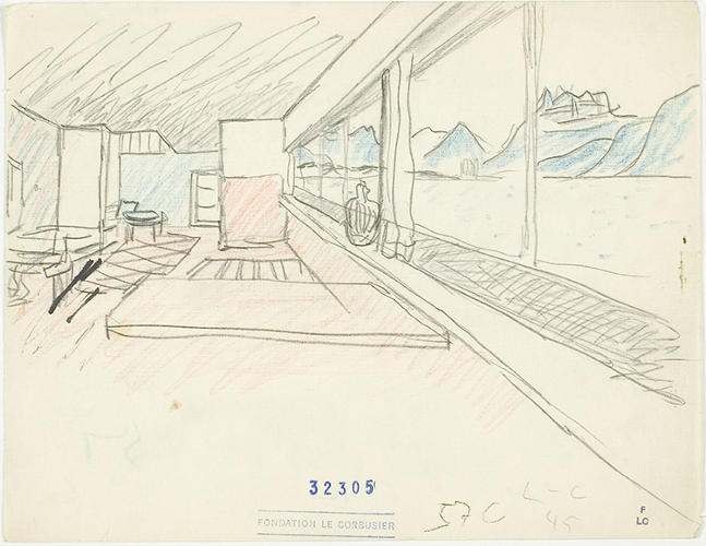 <p>Like the Villa Le Lac, the second house Le Corbusier would design for his parents, which features a long ribbon-strip window that opens up the interiors to the view of Lake Geneva outside.</p>