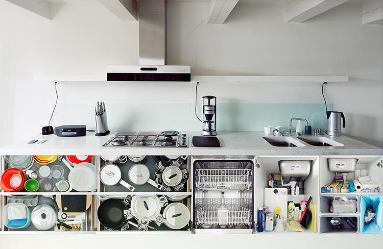 <p>Interestingly, Wolterink doesn't use his own kitchen much, but that's where his series began.</p>