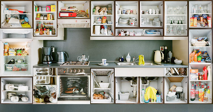 <p>His <em>Kitchen Portraits</em> series tells the stories of Amsterdam families through their sometimes clean, other times messy kitchens.</p>