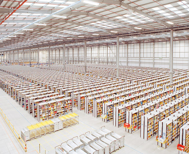 <p>Rugeley, a town in the British Midlands, is home to a new Amazon fulfillment center.</p>