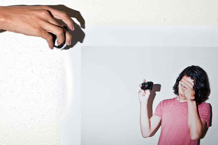 <p>Photographer Bobby Scheidemann takes pictures of himself taking pictures of things.</p>