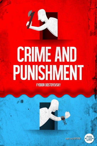 <p><em>Crime and Punishment</em>…is that blood or a curtain?  - Roberlan Borges</p>