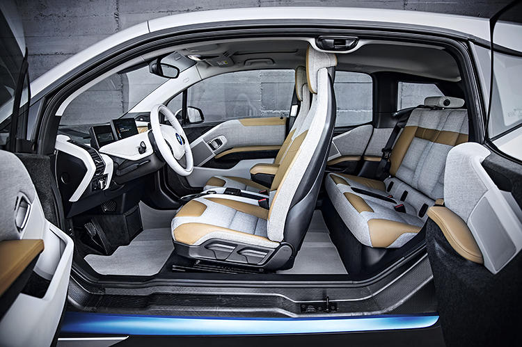 <p>Without columns, the interior is said to feel as spacious as a 3 series, even though the car has the footprint of a 1 series.</p>