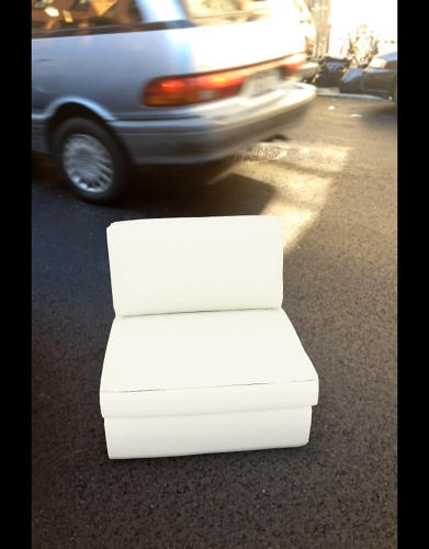 <p>But it's also still a lot of fun to place a piece of furniture smack-dab in the middle of rush hour.</p>