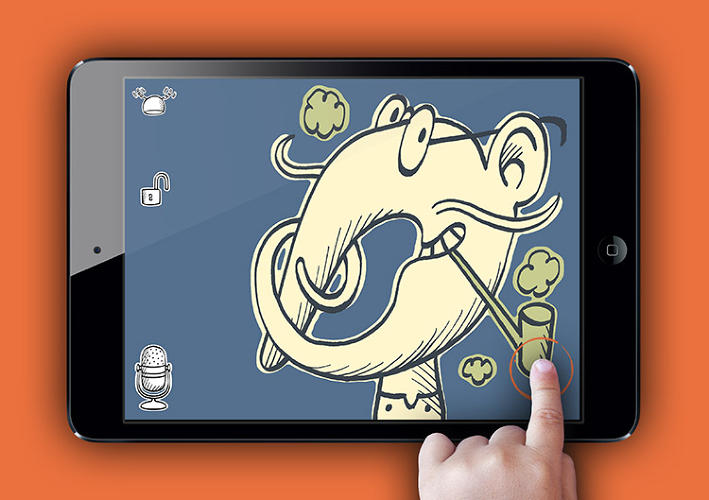 <p>Developed by app makers Curious Hat, InfiniScroll features an &quot;infinite&quot; number of illustrations that form the building blocks of a story.</p>