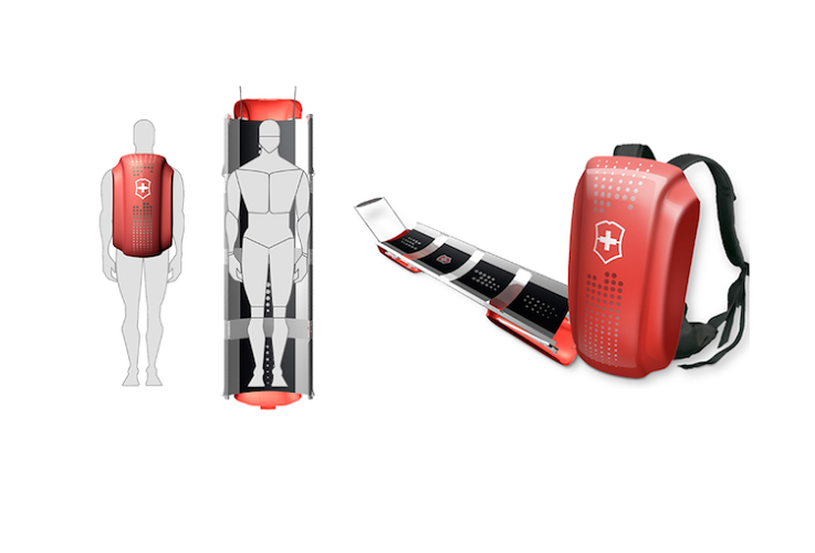 <p>The collapsible stretcher tweaks the traditional stretcher design in a way that could dramatically improve emergency situations. Not only will this equipment from Mr. Tom Design make it to harder-to-access locations, but, being lightweight and designed as a backpack, anyone can have one.</p>