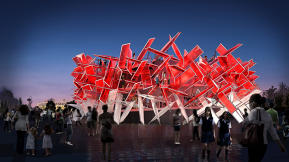 Coca-Cola Creates A Beatbox The Size Of A Building For The London Olympics
