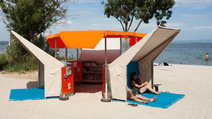 Beach Reads: A Library Pops Up In The South Of France