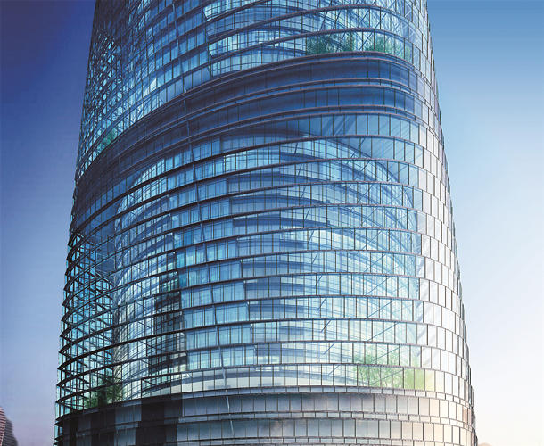 <p>At 632 meters tall and 121 stories, the Shanghai Tower will be the second-tallest building in the world when it's topped out in 2015.</p>