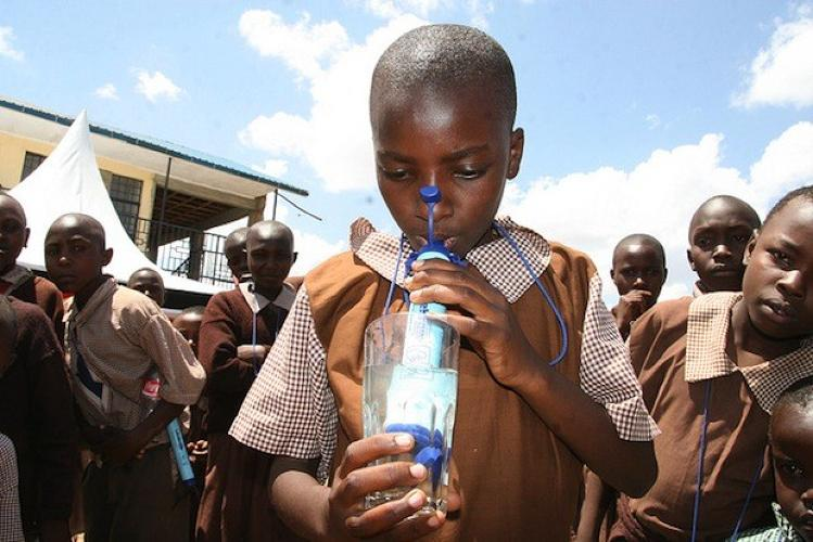 <p>Make sure your <a href=&quot;http://www.fastcoexist.com/1677938/fighting-water-borne-disease-in-africa-and-making-millions-in-the-process&quot; target=&quot;_self&quot;>water is clean and safe with a LifeStraw</a>.</p>