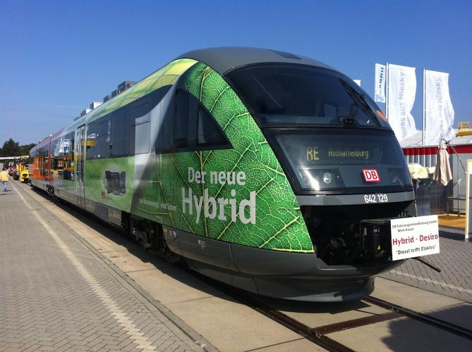 <p>Based on 300 days service a year, with seven trips a day, he says it should save about 40,000 liters of diesel per year, or 105,000 tons of CO2.</p>