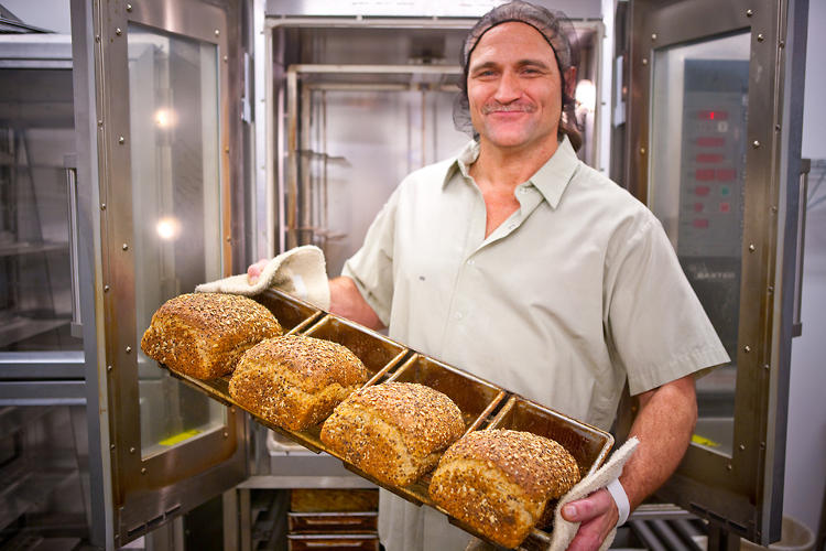 <p>Dahl's family owns a bread company, but his own concoctions ended up being a big hit at local farmers' markets when he launched his line in 2005, just a year after getting out of prison.</p>