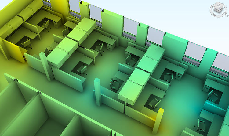 <p>Project Dasher gathers data from disparate sources in a building and visualizes it in 3-D.</p>