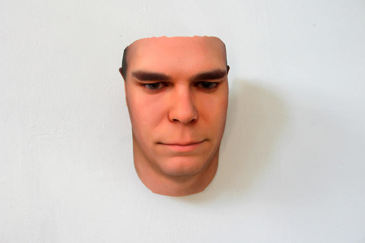 <p>The artist Heather Dewey-Hagborg makes these busts using a 3-D printer and DNA she finds on the street.</p>